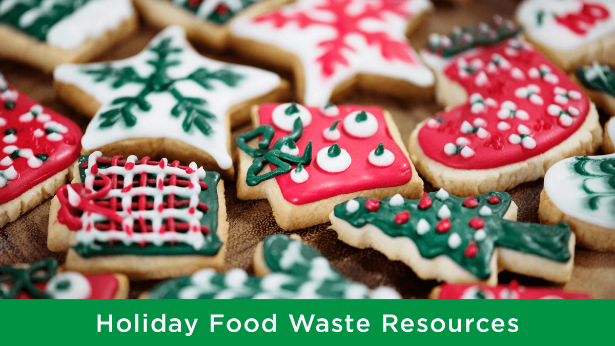 Holiday food waste tips