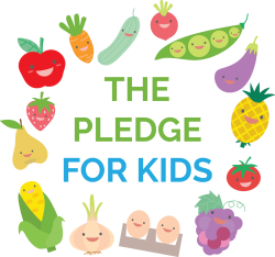 The pledge for kids!
