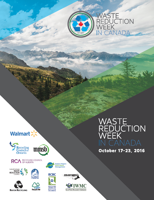 Waste Reduction Week in Canada Poster