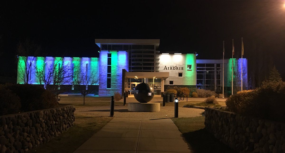 City of Airdrie lighting