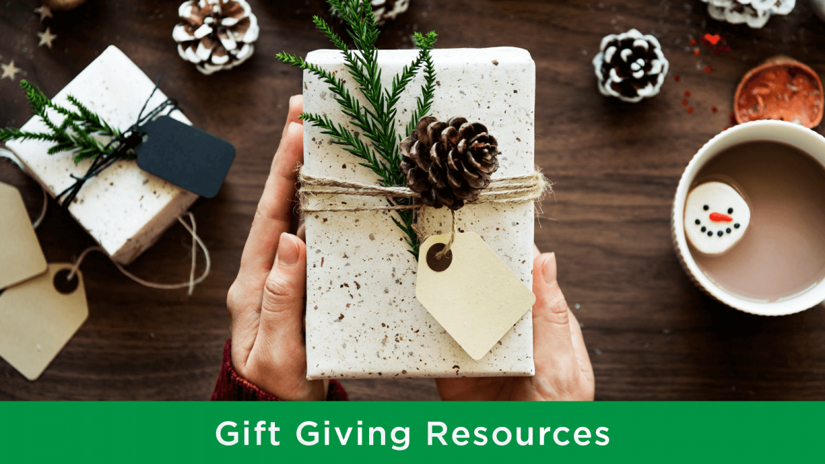Waste-free gift giving tips