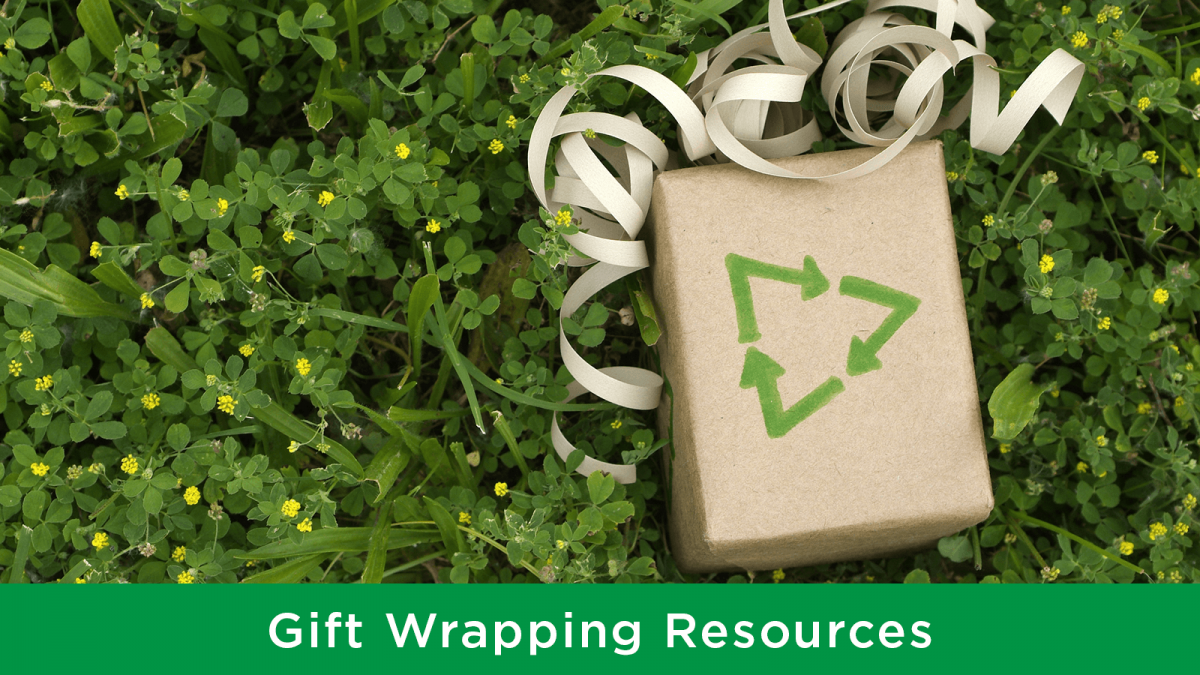 Waste-free gift wrapping tips